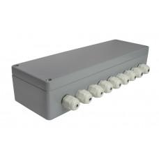 Соединительная балансировочная коробка для 8-ми тензодатчиков с платой Utilcell ATEX для взрывоопасных сред. Алюминий.