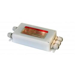 Соединительная балансировочная коробка на 4 тензодатчика, пластиковая.