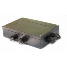 Соединительная коробка Keli JB JXHL02. Алюминий.
