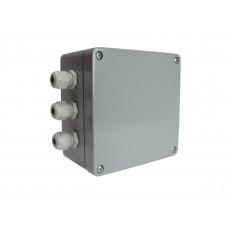 Соединительная балансировочная коробка для 4-х тензодатчиков Pavone Sistemi CGS4-C. Алюминий.
