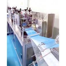 Автоматическая линия по производству трёхслойных одноразовых медицинских масок