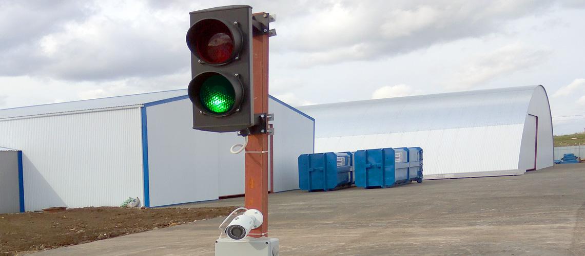 Система автоматизации автомобильных весов