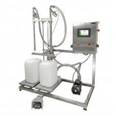 Весовой дозатор жидкостей и паст ДВ-2 напольный