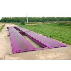 Весы автомобильные электронные 60 / 80 тонн 15 метров фундаментные