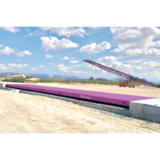 Весы автомобильные карьерные 80 / 100 тонн 18 метров фундаментные